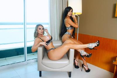 Livia Lemos & Yammi Guedes - Acompanhantes Recife - Acompanhantes Pernambuco - Acompanhantes Pe