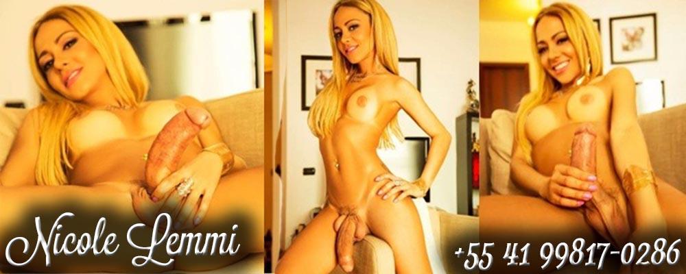 Travesti Transex Curitiba Cwb Nicole Lemmi