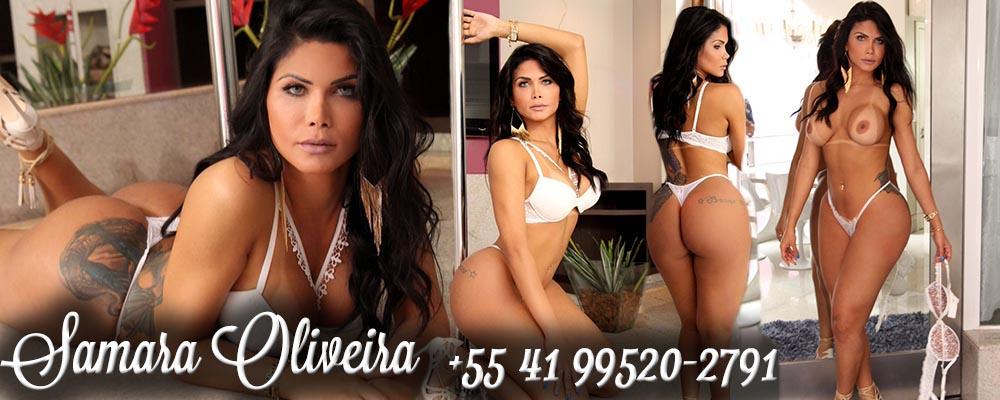 Travesti Transex Curitiba Cwb Samara Oliveira