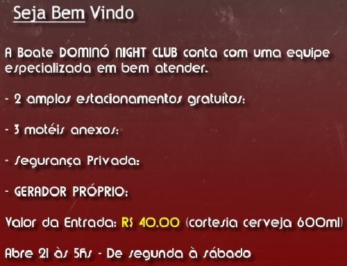 Boate-Porto Alegre Dominó Night Club